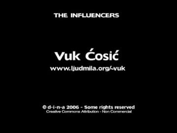 Vuk Ćosić - The Influencers 2006 (1)