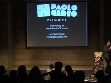 Paolo Cirio (Part 5 of 5) - The Influencers 2013