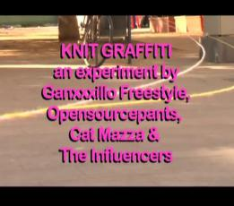 Knit Graffiti - The Influencers 2011